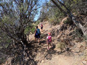 Korsika wandern und baden: Aufstieg zum Punta die Tuana