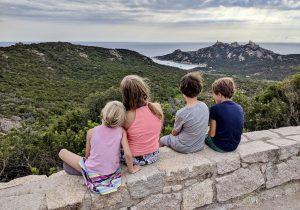 Korsika mit Kindern Blick auf den Rocher du Lion am Capu di Roccapina