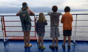 Einfahrt in Bastia mit Moby Lines