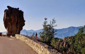 Felsformation in der Calanche auf Korsika