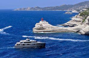Hafeneinfahrt Bonifacio