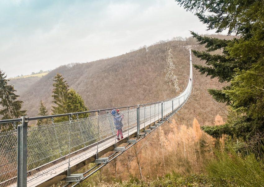 Geierlay Hängeseilbrücke im Hunsrück