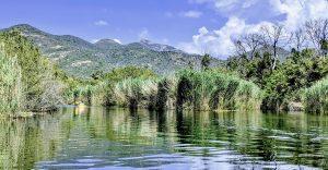Kanu im Fango-Delta