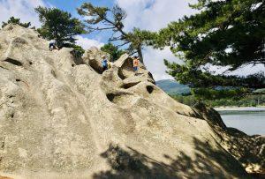 Klettern auf Korsika am Stausee L´Ospédale