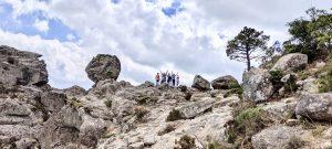 Korsika Süden Wanderung zu Wasserfällen