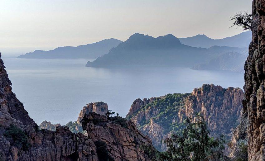 Korsika-Tipps- Die Calanche an der Westküste