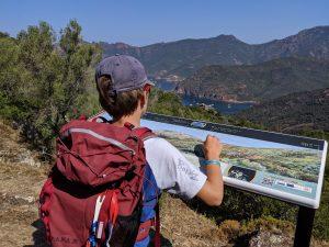 Korsika baden und wandern - Wanderung nach La Girolata