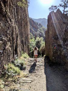 Korsika wandern und baden Porto