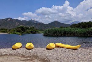 Korsika wandern und baden im Fango Delta