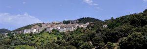 Panorama-Ansicht von Sarténe