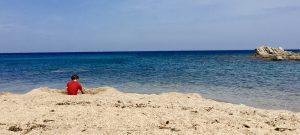 Strand Cara Lunga im Süden Korsikas