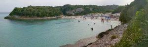 Strand Petit Sperone nah am Camping Korsika