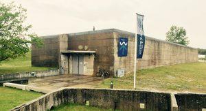 Caisson bzw. Senkkasten des Watersnoodmuseum