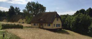 Ferienhäuser auf der Insel Vilm