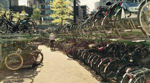 Fahrradgarage in Rotterdam