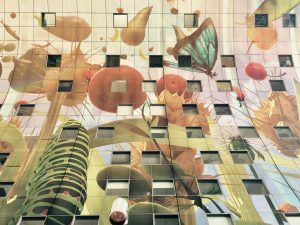 Decke und Wohnungen der Markthalle in Rotterdam