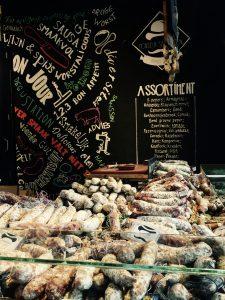 Marktstand in der Markthalle Rotterdam