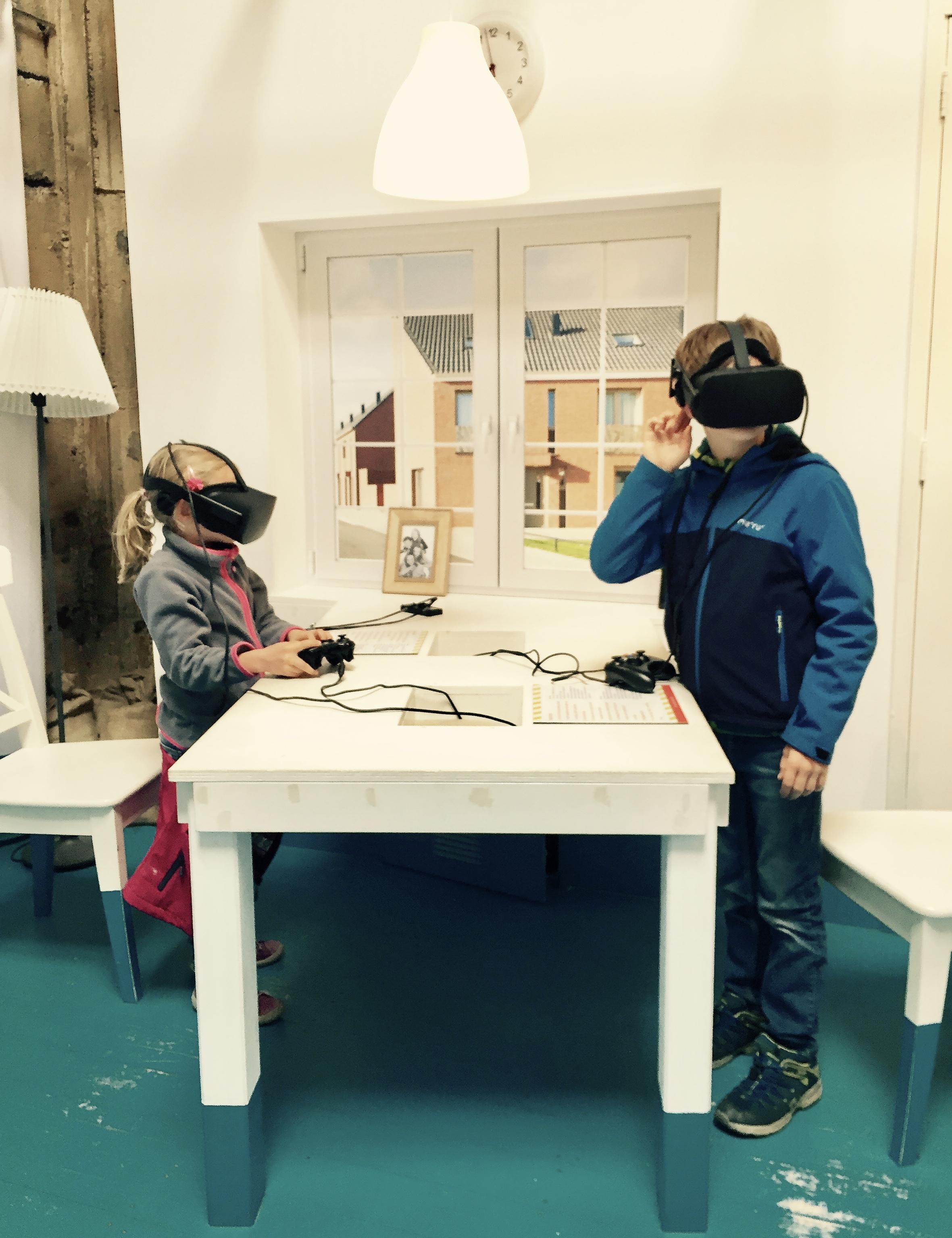 Simulation einer Flut in der virtuellen Realität