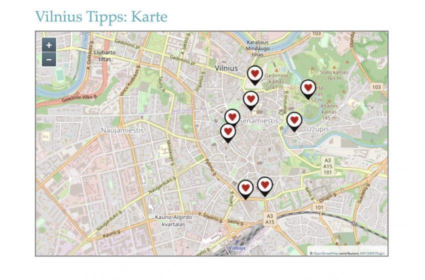 Wordpress Map Openstreetmap Plugin Karte erstellen