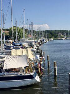 Der Hafen in Seedorf auf Rügen