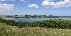 Blick auf das Zicker Naturschutzgebiet auf Rügen