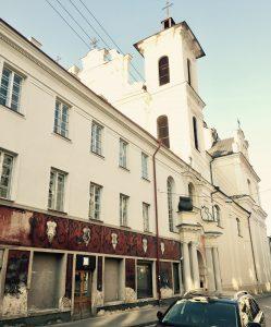 Ansicht des Hotel Book B&B in Vilnius