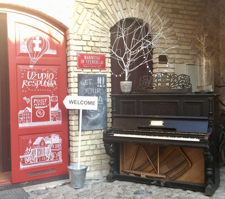 Kunstgalerie in Uzupis Vilnius