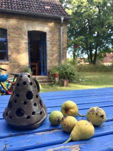 Ferienhaus in der Dorfschule in Kleinzerlang Rheinsberg an der Mecklenburgi Seenplatte
