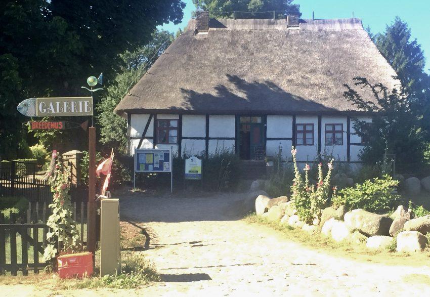Rügen Mönchgut Reetdachhau Galerie Middelhagen
