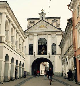 Tor der Morgenröte in Vilnius