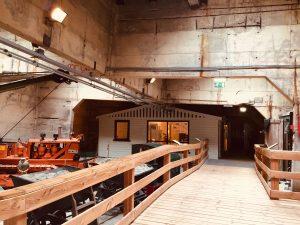 Innen im Watersnoodmuseum - Unterkunft für die Flutopfer