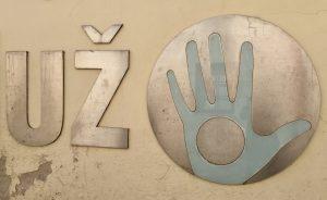 Zeichen Hand in Uzupis