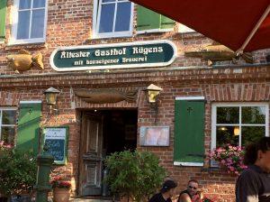 Gasthof zur Linde in Middelhagen auf der Mönchgut Halbinsel